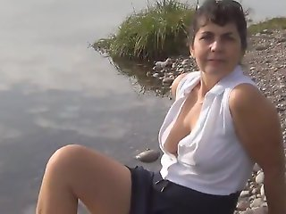 mature, amateur, outdoor