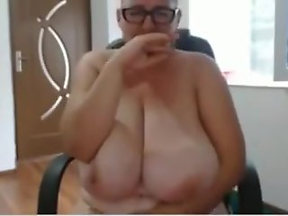 mature, big tits, webcam