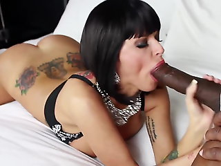 brunette, anal, interracial