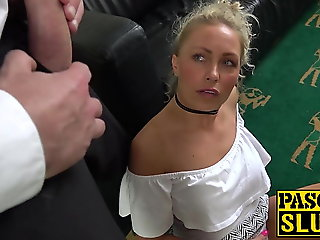 blowjob, blonde, sex toy