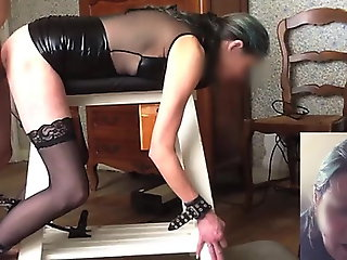 bdsm, anal, stockings