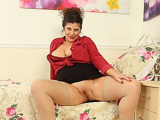 milf, mature, british
